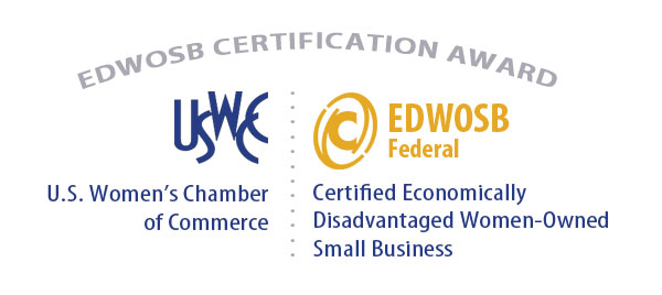 EDWOSB Certification Award Recognition WEB